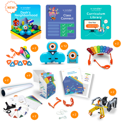 Dash and Dot K-5 Tech Center