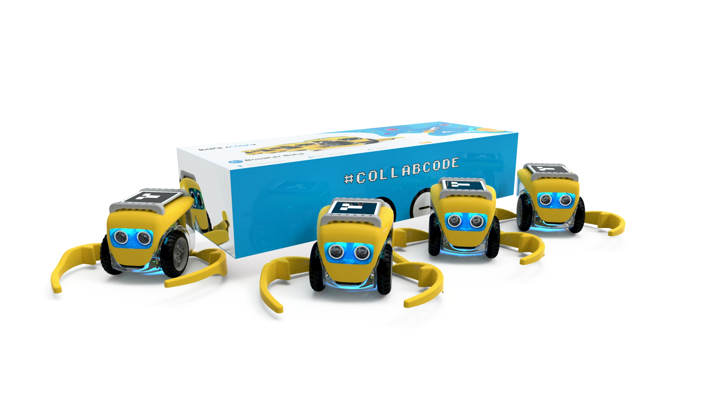 Kai Robot 4 pack