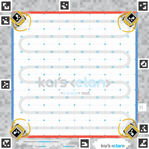 Kai's Clan Create Activity Mat
