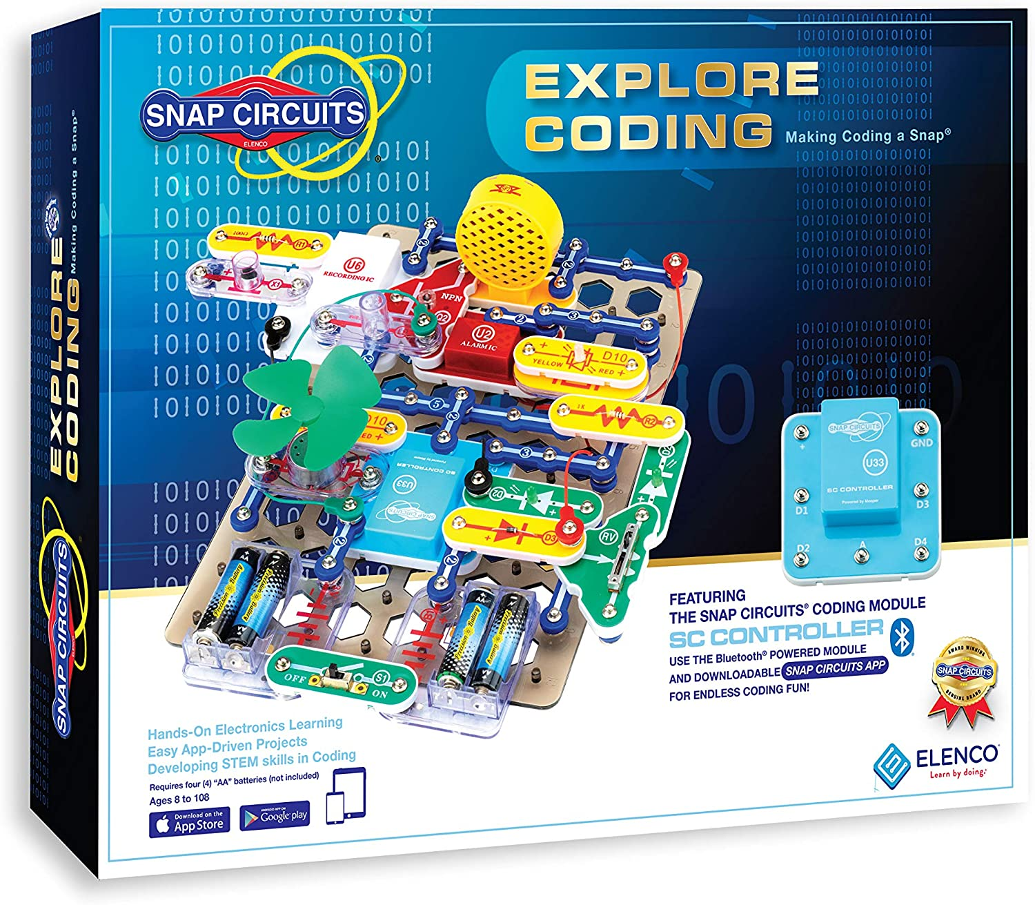Snap Circuits Explore Coding Kit package