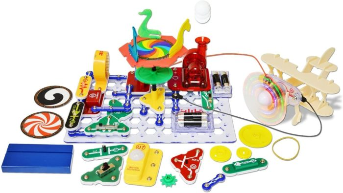 Snap Circuits Motion kit sample projects