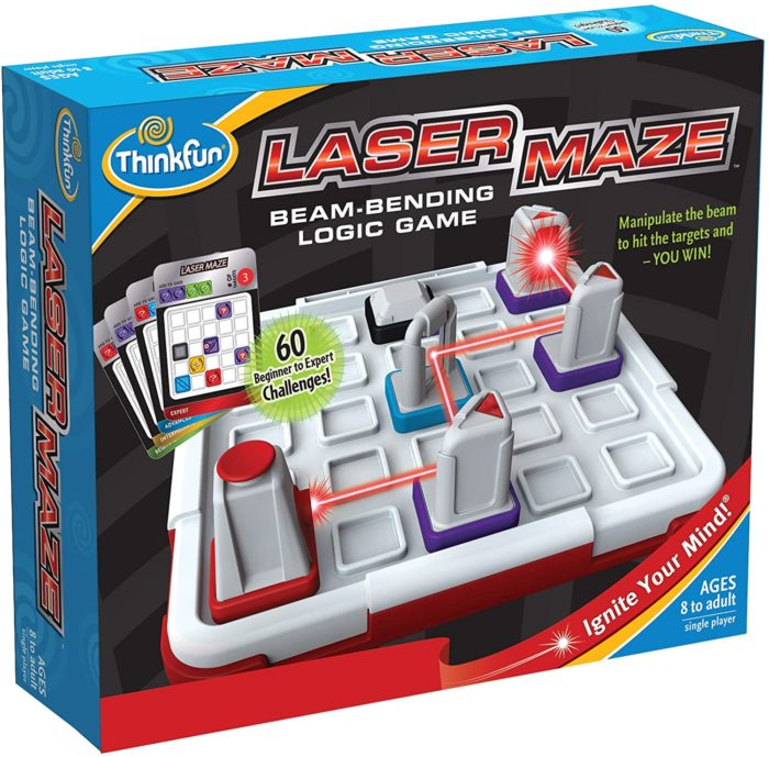 Laser Maze packaging