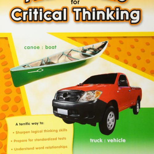 Analogies for Critical Thinking Grade 5 Cover