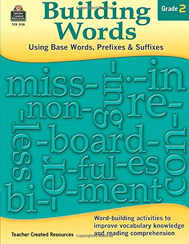 Building Words Grade 2 cover