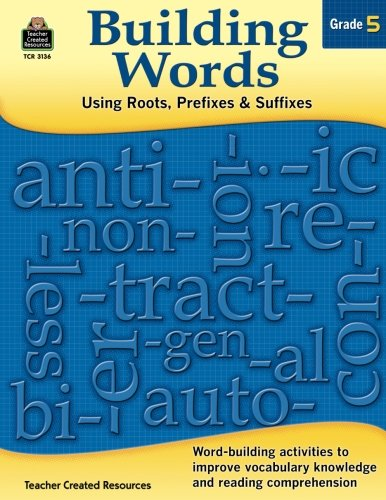 Building Words Grade 5 Cover