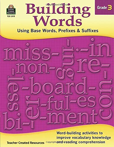 Building Words Grade 3 Cover