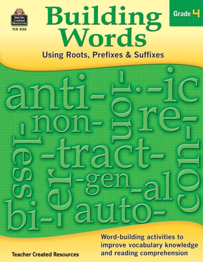 Building Words gr 4 cover