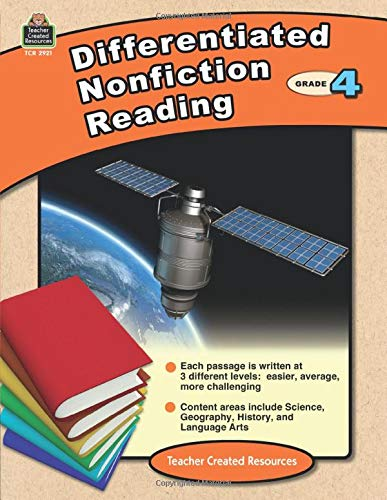 Differentiated Nonfiction Reading Grade 4 Cover