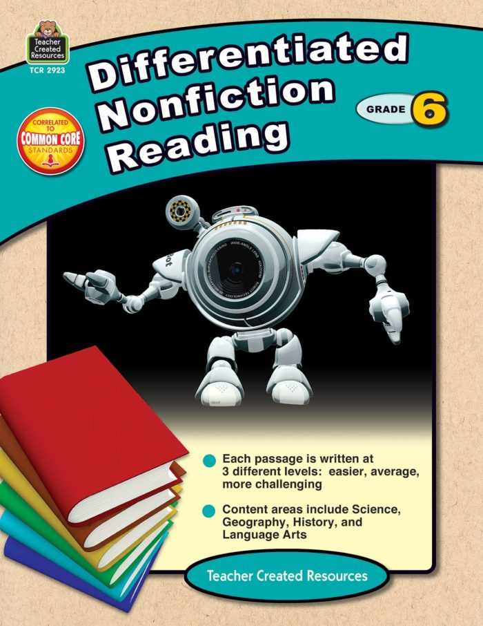 Differentiated Nonfiction Reading 6 Cover