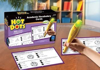 Educational Insights Hot Dots Academic Vocabulary Set grades 4-6