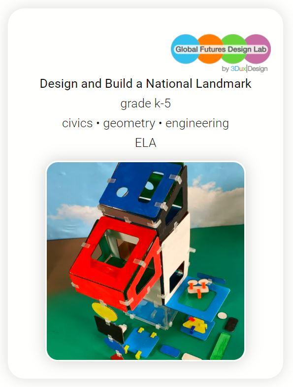 3DuxDesign National Landmark Lesson Plan