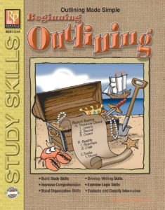 Outlining Grades 5-8 from Remedia Publications front Cover