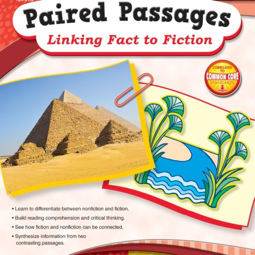 Paired Passages: Linking Fact to Fiction grade 2 front cover