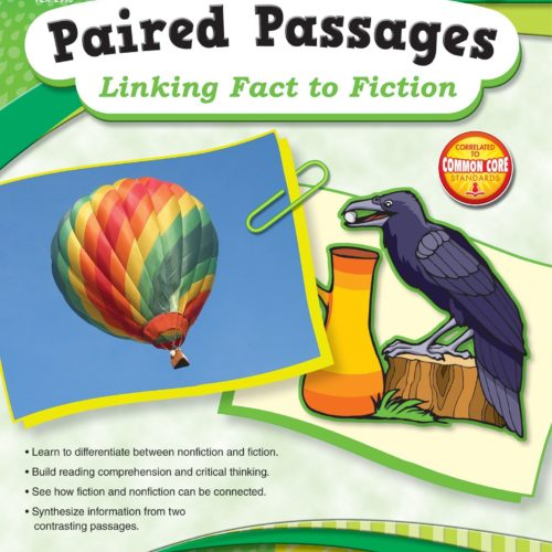Paired Passages: Linking Fact to Fiction grade 3 page samples