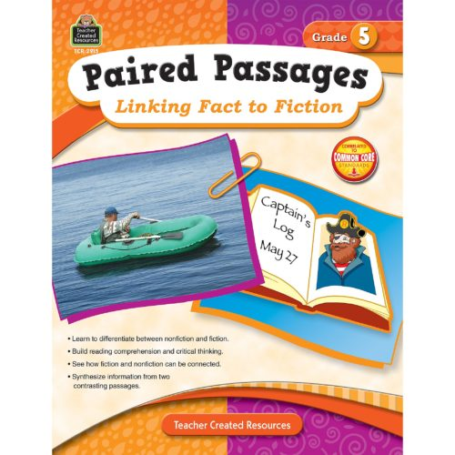 Paired Passages: Linking Fact to Fiction Grade 5 front cover