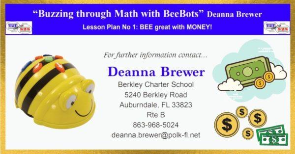 Bee-Bot Math Lesson on Money
