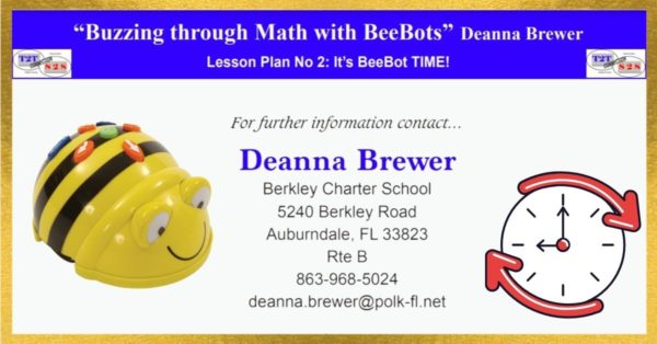 Bee-Bot Math Lesson on time