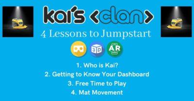 Kai's Clan jumpstart Lessons