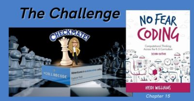 The Global Chess Challenge in No Fear Coding