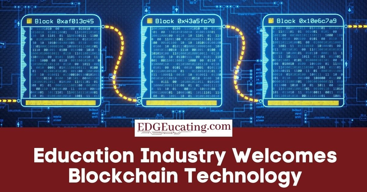 Blockchain in the education industry